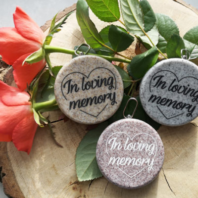 In loving memory leaves