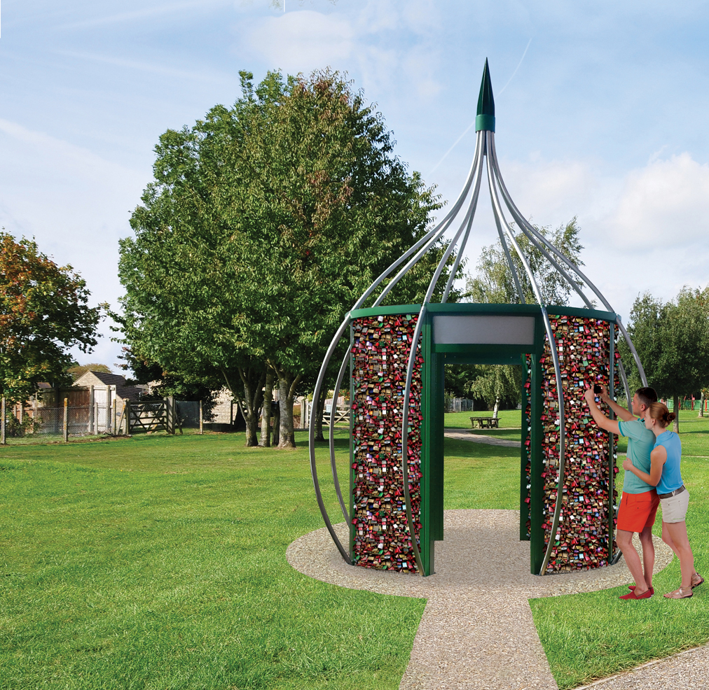 Safe, strong tree shaped structure